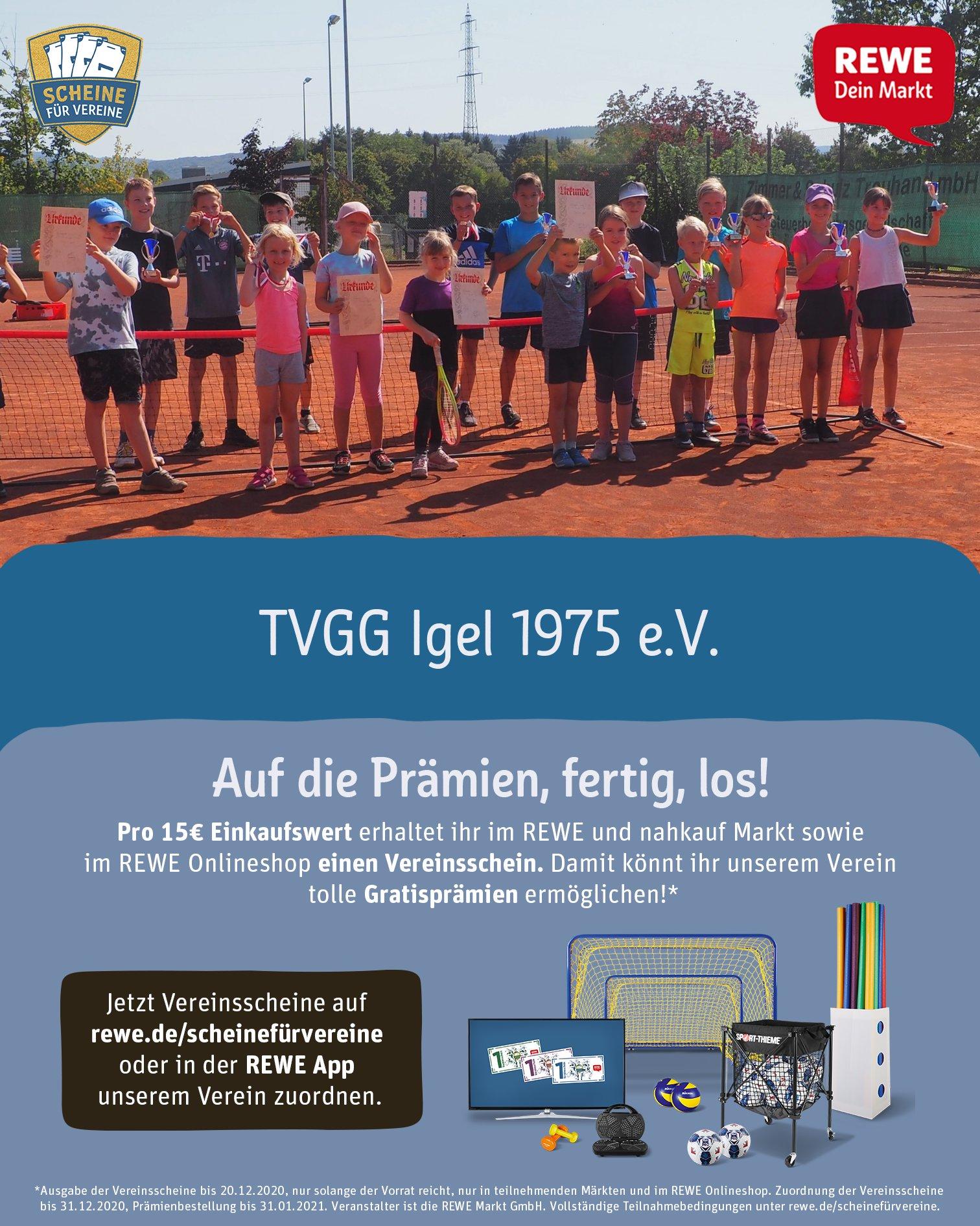 Scheine für Vereine_TVGG Igel